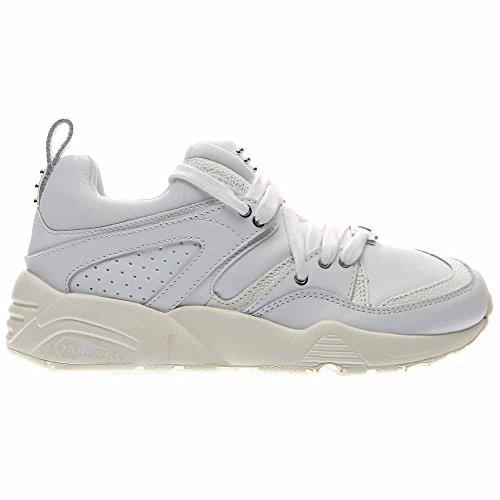 Puma Blaze Of Glory Decor Cuir Baskets white-whisper white