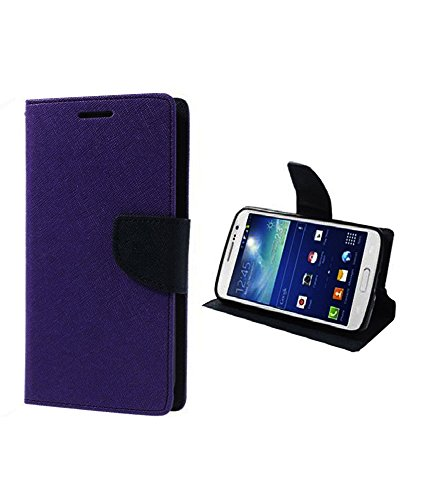 DR2S Mercury Wallet Flip Cover for Sony Xperia C - Purple  available at amazon for Rs.195