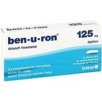 Ben-u-ron 125 mg Zäpfchen, 10 St. preisvergleich bei billige-tabletten.eu