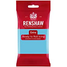 Renshaw Rolled Fondant Extra 250g - Baby Blue