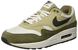 Nike Herren Air Max 1 Fitnessschuhe, Mehrfarbig (Medium Olive/Sequoia/Neutral Olive 201), 44 EU