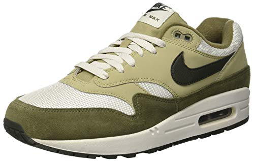 Nike Herren Air Max 1 Laufschuhe, Mehrfarbig (Medium Sequoia/Neutral Olive 201), 42 EU (Braun Air Force 1)