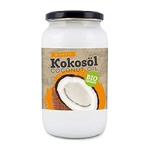 Bio4Fit Ingo Steyer KG Olio di Cocco, Nativo, in un Bicchiere - 1 l 7 spesavip