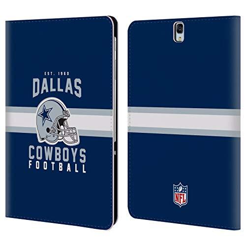 Head Case Designs Offizielle NFL Helm-Buchdruckerkunst 2018/19 Dallas Cowboys Logo Brieftasche Handyhülle aus Leder für Samsung Galaxy Tab S3 9.7 (Helme Dallas Cowboy)