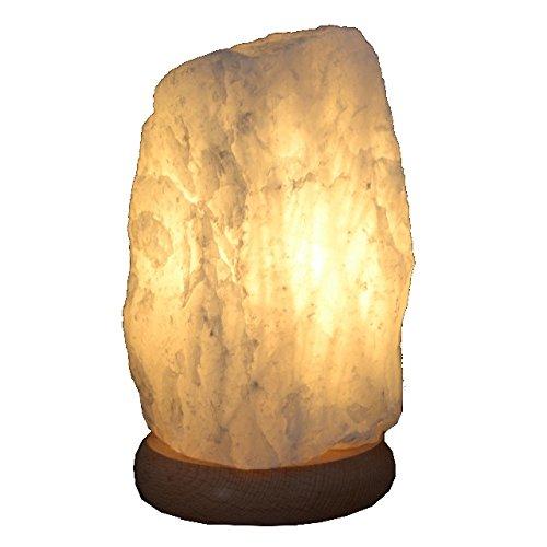 Bergkristall-Lampe Rohstein Edelsteinlampe ca.2-3kg, mit Buche Sockel (Lampe Mit Edelsteinen)
