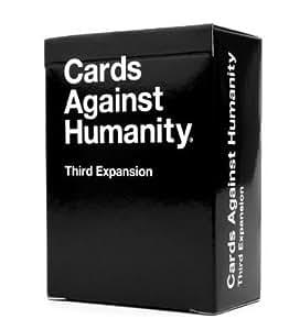 Cards Game Against Humanity(cartes contre l'humanité): Troisième extension, livraison gratuite, New