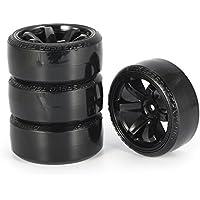 Momorain 4Pcs RC Drift Neumáticos Set para 1/10 Traxxas HSP Tamiya On-Road Drifting Piezas de Coches