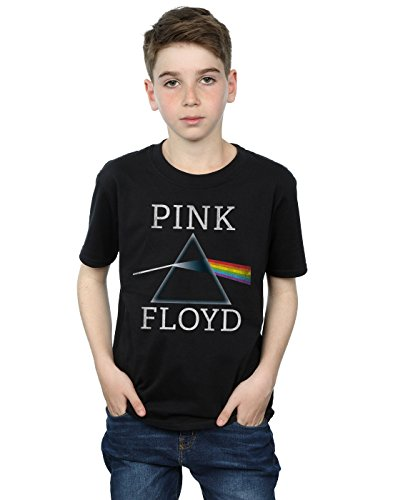 Official Boys Dark Side of The Moon Prism T-Shirt, Ages 3 to 13 Years