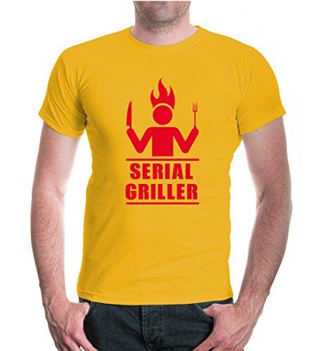 buXsbaum® T-Shirt Serial Griller Sunflower-Red