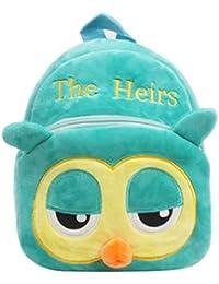 KINGSEVEN Cute Plush Backpack Zoo Pack Girls & Boys School Bag Kids Backpack For Travel Outdoor And Kindergarten...