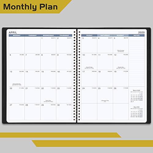 Zoom IMG-2 agenda 2020 settimanale diario a4