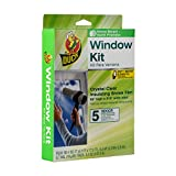 Duck 2 Pack - Brand 1299529 Indoor 5-Window Shrink Film Kit, 62-By-210-Inch