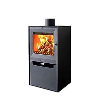 Kaminofen Aduro 14 schwarz 6,5 kW Holzofen