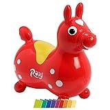 Cavallo Rody inkl. Pumpe, Sprungpferd, Hüpfpferd, Hüpftier, Sprungtier aufblasbar