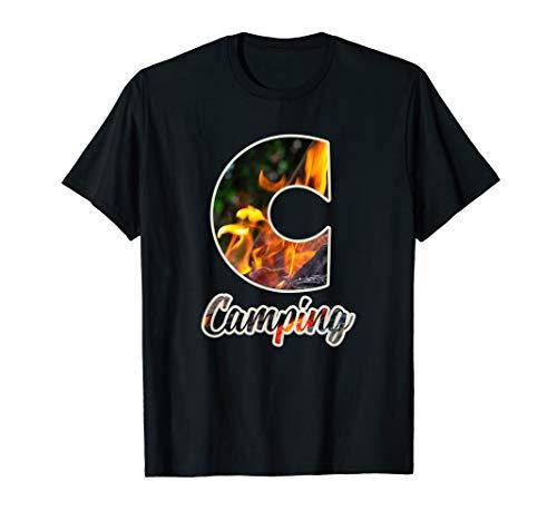 Camping Campingbus Reise Urlaub Camper Zelt Outfit Geschenk T-Shirt