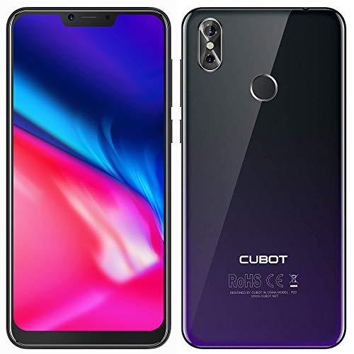 CUBOT P20 2018 4G Smartphone 6.18 Pulgadas Android 8.0 MTK6750T Octa Core 1.5GHz 4GB RAM + 64GB ROM, 20.0MP + 2.0MP...