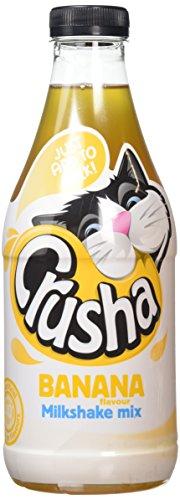 Milkshake banane Crusha aromatisantes bouteille 1L