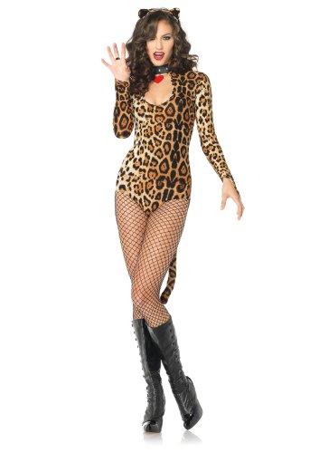 LEG AVENUE 83784 - Leoparden Kostüm, Größe M/L
