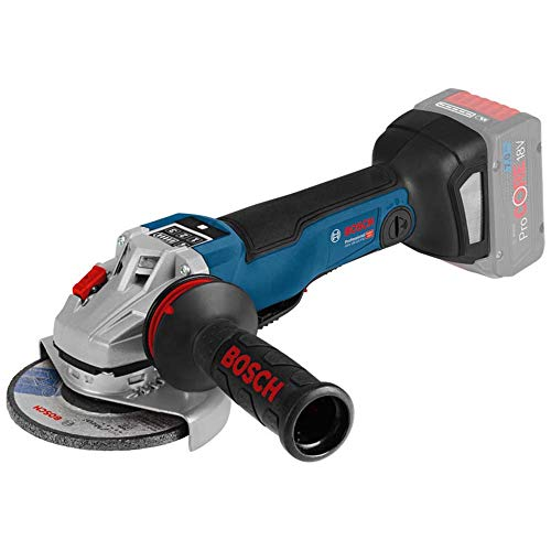 Bosch Professional 06019G3400 Amoladora Angular a batería, 18 V, Azul