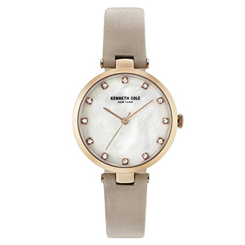 Kenneth Cole New York Mujer Reloj De Pulsera Analógico Cuarzo Piel kc50257003