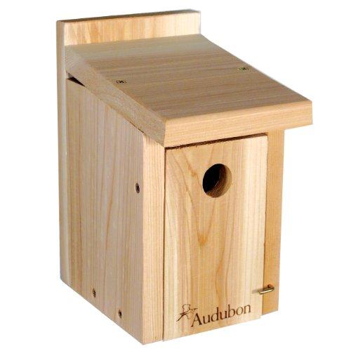 Woodlink nawrch Audubon Cedar Wren und Chickadee Haus (Birdcage Feeder)