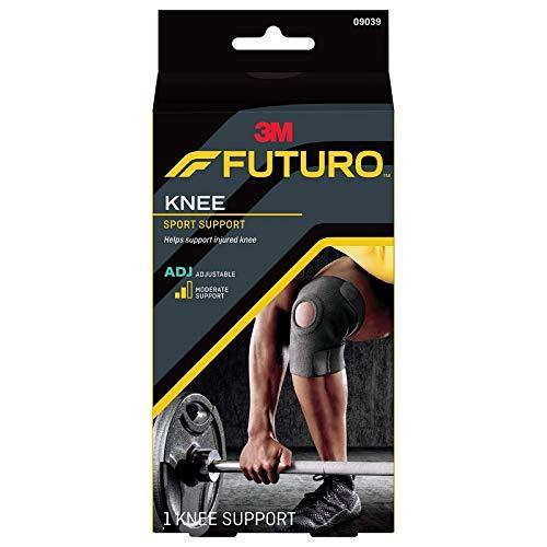 FUTURO Sport Verstellbar Schwarz Neopren Kniebandage-33,0cm-45.7cm