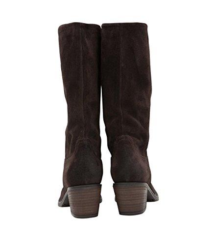 Janet & Janet Chaussures à lacets Chaussures Femme-Cuir-Marron Marron