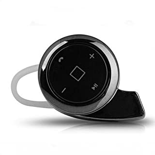 Alisable Snails A8 Mini Wireless Bluetooth Headphone Music Headset Support Voice Prompt and Incoming Calls Report for Smartphones and Tablets (balck)