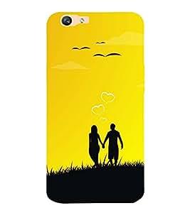 printtech Premium Latest Designer Love Romance Printed Back Case Cover for Vivo V5 Plus