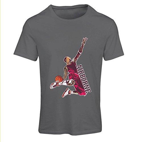 er Herr der Schwerkraft, Basketball Freestyle Dunk - Ich liebe dieses Spiel (Medium Graphit Mehrfarben) (Schiedsrichter Halloween-outfit)