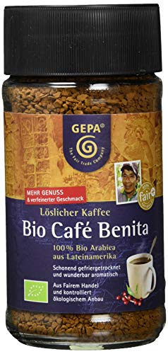 GEPA Cafe Benita, 1er Pack (1 x 100 g) - Bio