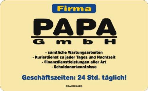 Frühstücksbrettchen Papa GmbH
