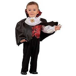 WIDMANN-Vampiro - Disfraz para niños, multicolor, (104 cm/2 - 3 años), 40009