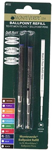 monteverde-m132bb-sanfte-kugelschreiber-mine-montblanc-geeignet-fur-rechts-linkshander-blau-schwarz