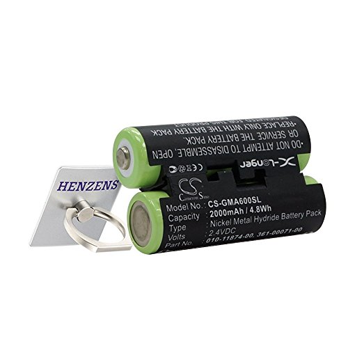 CS GPS Akku, NI-MH 2000mAh passend für Garmin Oregon 600, Oregon 600t, Oregon 650, Oregon 650t, ersetzt Garmin 010-11874-00, 361-00071-00 Handheld-fishfinder
