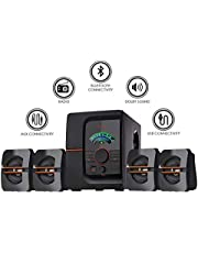 I Kall IK401 60W Bluetooth Home Theatre System with FMAUXUS