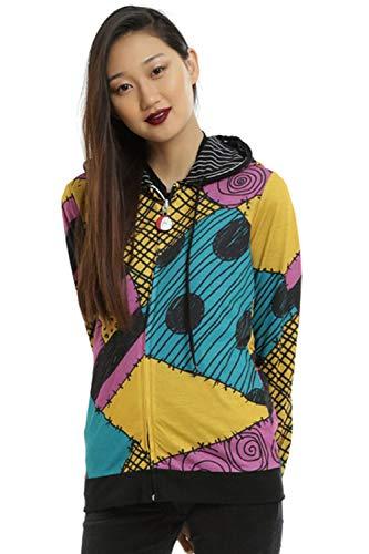 MingoTor Damen Merchandise Sally 3D Zip Up Hoodie ()