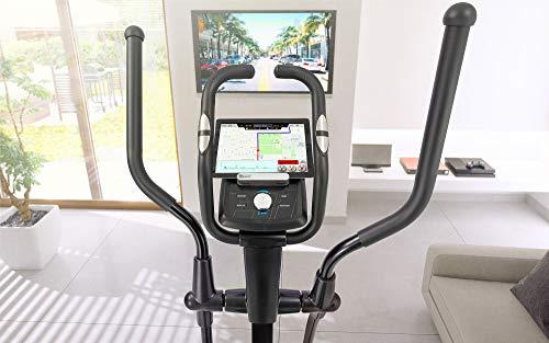 Hop-Sport Crosstrainer HS-060C Ergometer Elliptical Heimtrainer mit Bluetooth Smartphone Steuerung - 2