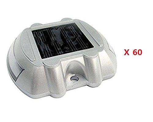 DCHOUSE Lumières solaires de 60 PCs pour Night Road Street Green Energy