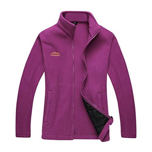 serliyMantel Damen Winter Outdoor Mantel Trend Stil für Damen Outdoor Furring Verdickung Fleece Jacke Sport Grab Suede Coat Lässiges Outdoor-Tops