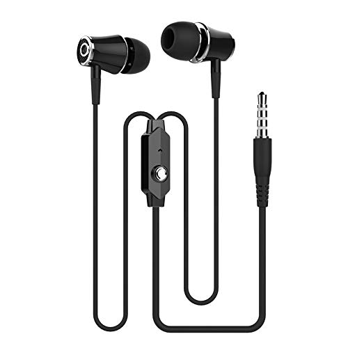 FGHJNXDRFSYHGJN 3.5mm In-Ear Universal Wired Earphone Headset with Microphone Bass & Microphone Handsfree Sport Stereo Music Earbuds
