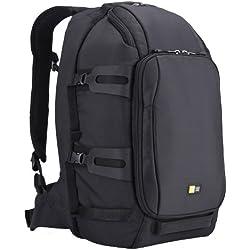 Case Logic Luminosity DSB101K Sac à dos en nylon pour Appareil Reflex + 6 Objectifs + Accessoires + Tablette PC Medium Noir