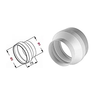 Round Duct Reduction for Extractor Hood 120mm/100mm ROK