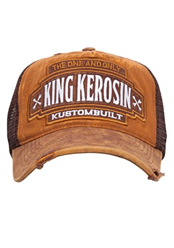 KING KEROSIN Trucker Cap im Used Look Herren -