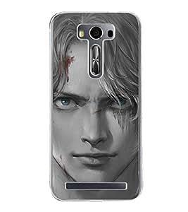 Boy 2D Hard Polycarbonate Designer Back Case Cover for Asus Zenfone Selfie ZD551KL