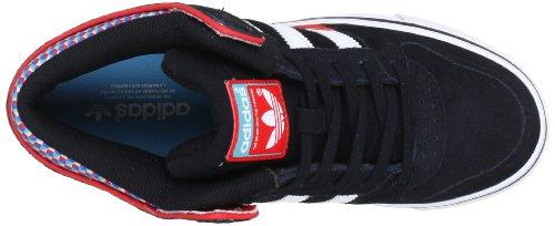 adidas Originals CULVER MID G65555 Herren Sneaker Schwarz (BLACK 1 / RUNNING WHITE FTW / VIVID RED S13)