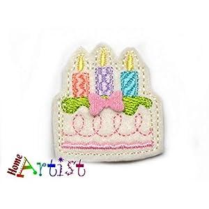 Geburtstagskuchen Haarspange für Kleinkinder – freie Farbwahl