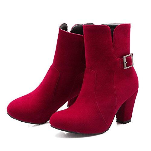e1b0f595d05cd8 Balamasa Bottines Chelsea Pour Femmes Rouges - osteopathe-igny.fr
