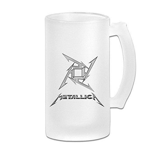 Metallica Rock All Night Scrub Bier Tassen/Bier Gläser Drinkware Gläser