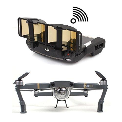 MAYISUMAI Remote Controller Signal Booster Range Extender para DJI Mavic Pro Mavic Air y Spark Portable DJI Drone Accessories